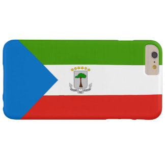 Flag of Equatorial Guinea Barely There iPhone 6 Plus Case