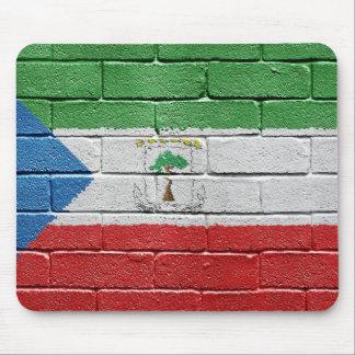 Flag of Equatorial Guinea Mouse Pad