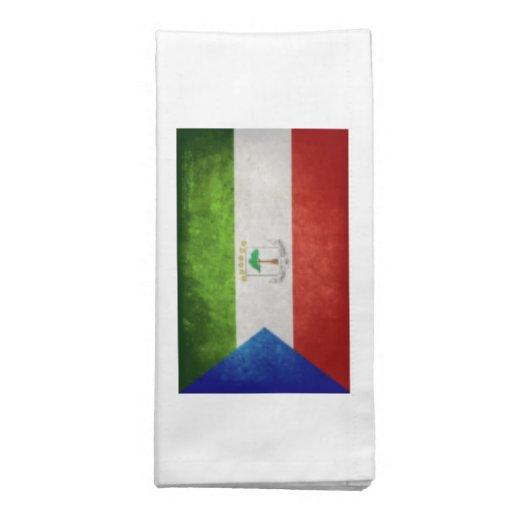 Flag of Equatorial Guinea Napkins