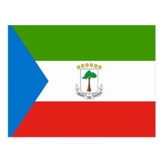 Flag of Equatorial Guinea Postcard
