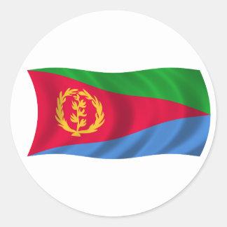 Flag of Eritrea Classic Round Sticker