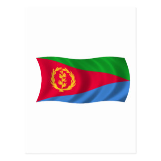 Flag of Eritrea Postcard