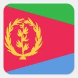 Flag of Eritrea Square Sticker