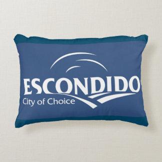 Flag of Escondido Decorative Pillow