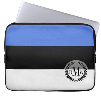 Flag of Estonia Computer Sleeve
