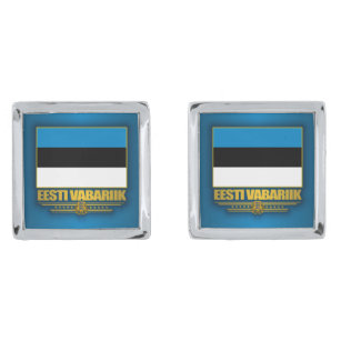 4b30f85bfe4 Flag of Estonia (Eesti Lipp) Cufflinks