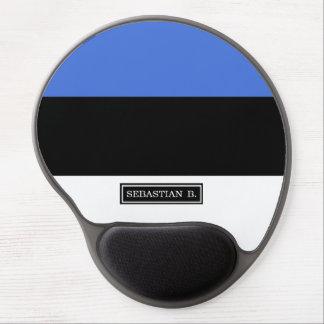 Flag of Estonia Gel Mouse Pad