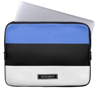 Flag of Estonia Laptop Sleeve