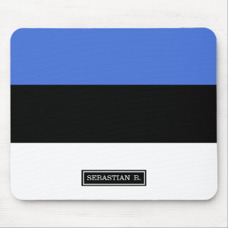 Flag of Estonia Mouse Pad