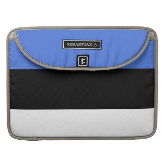 Flag of Estonia Sleeve For MacBooks