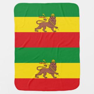 Flag_of_Ethiopia_(1897-1936;_1941-1974).png Baby Blanket