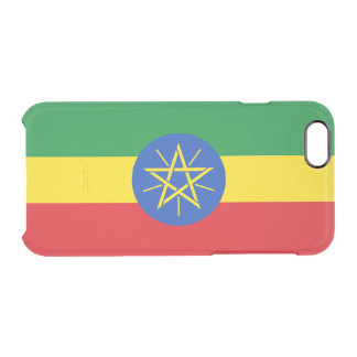 Flag of Ethiopia Clear iPhone Case