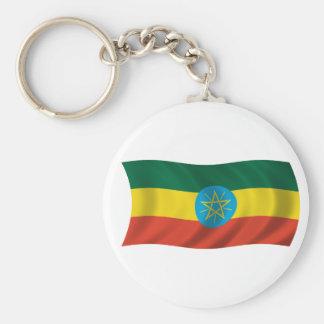 Flag of Ethiopia Keychain