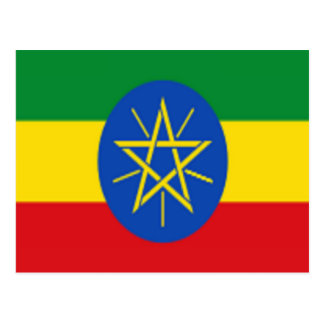 Flag of Ethiopia Postcard