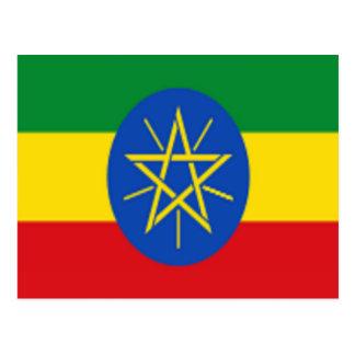 Flag of Ethiopia Postcard