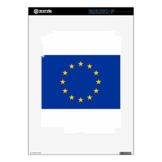 Flag of Europe iPad 2 Decals