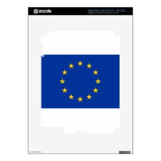 Flag of Europe iPad 3 Skin