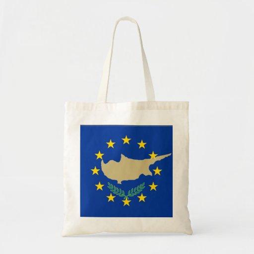 Flag of European Union and Cyprus Bag