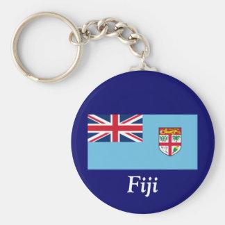 Flag of Fiji Key Chain