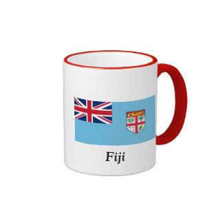 Flag of Fiji Ringer Mug