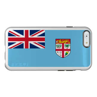 Flag of Fiji Silver iPhone Case
