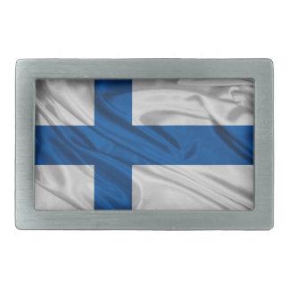 Flag of Finland Belt Buckle