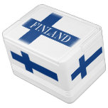 Flag of Finland Blue Cross Suomi Drink Cooler