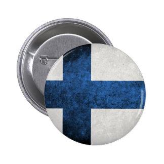 Flag of Finland 2 Inch Round Button