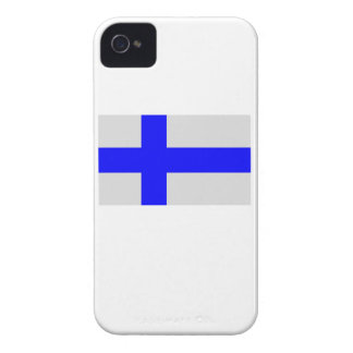 Flag of Finland iPhone 4 Covers