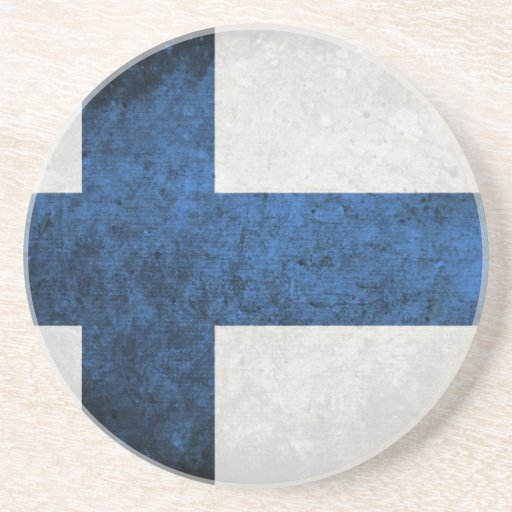 Flag of Finland Coaster