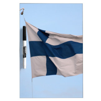 Flag of Finland Dry-Erase Board
