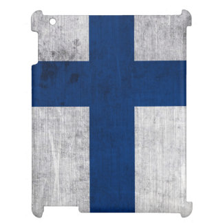 Flag of Finland Grunge iPad Cases