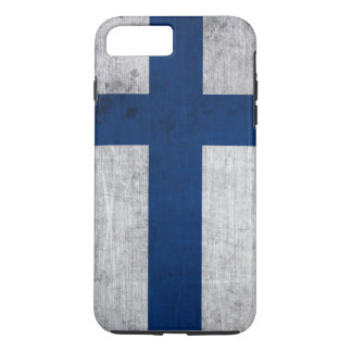 Flag of Finland Grunge iPhone 7 Plus Case