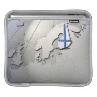 Flag of Finland iPad Sleeve