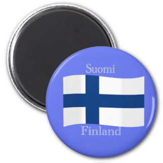 Flag of Finland Magnet