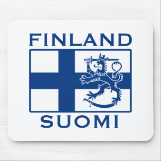Flag of Finland Mouse Pad