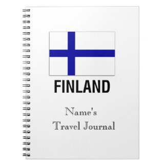 FLAG of FINLAND Notebook