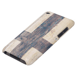 Flag of Finland on Wood Barely There iPod Case