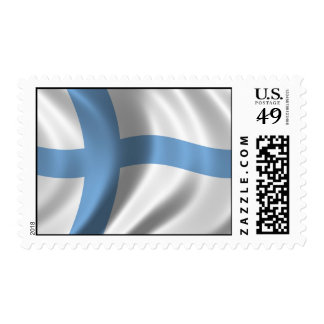 Flag of Finland Postage Stamp