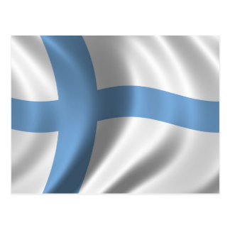 Flag of Finland Post Cards