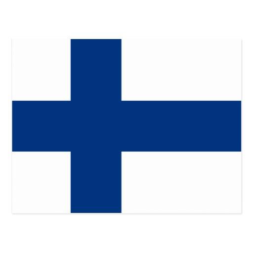 Flag of Finland Postcards