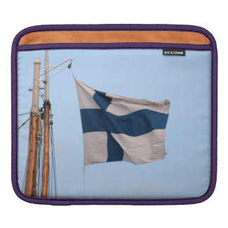 Flag of Finland Sleeve For iPads