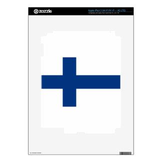 Flag of Finland - Suomen lippu - Finlands flagga iPad 3 Skin