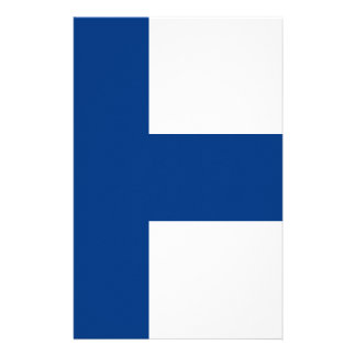 Flag of Finland - Suomen lippu - Finlands flagga Stationery