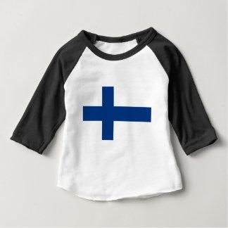 Flag of Finland - Suomen Lippu - Siniristilippu Baby T-Shirt
