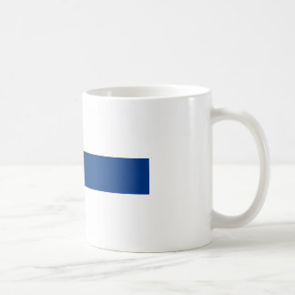 Flag of Finland - Suomen Lippu - Siniristilippu Coffee Mug