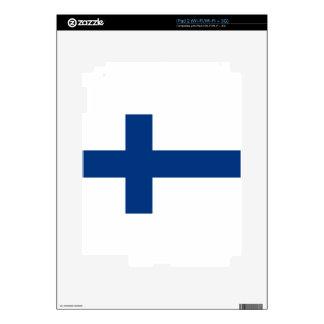 Flag of Finland - Suomen Lippu - Siniristilippu Decals For iPad 2