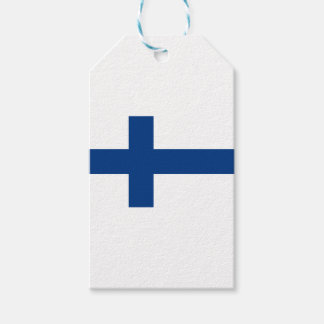 Flag of Finland - Suomen Lippu - Siniristilippu Gift Tags