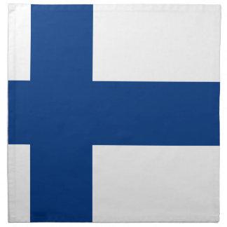 Flag of Finland - Suomen Lippu - Siniristilippu Napkin