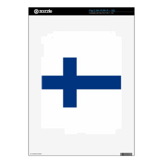 Flag of Finland - Suomen Lippu - Siniristilippu Skin For iPad 2